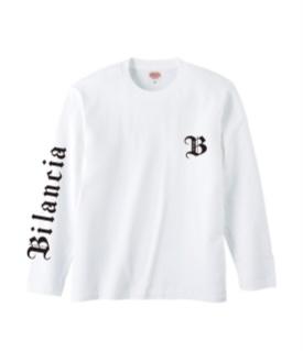 Bilancia Logo Long T-Shirt WHITE